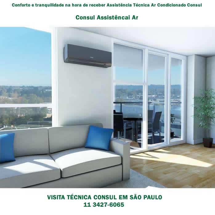 Assistência técnica Consul para ar condicionado