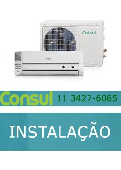 Instalação ar condicionado Consul