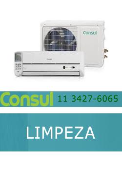Limpeza ar condicionado Consul