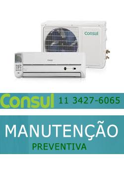 Manutenção preventiva ar condicionado Consul