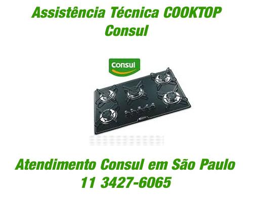 Assistência técnica cooktop Consul