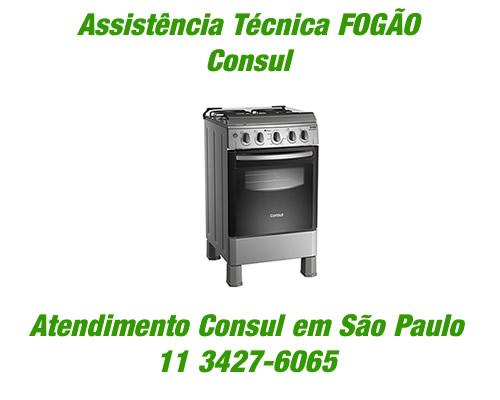 Assistência técnica fogão Consul