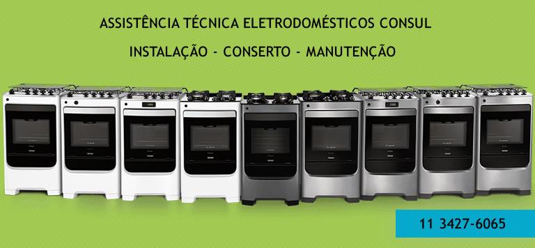 Assistência técnica eletrodomésticos Consul-sp