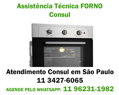 Assistência técnica forno Consul
