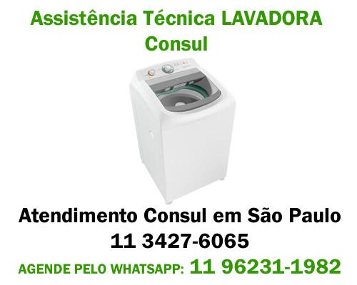 Assistência técnica lavadora Consul