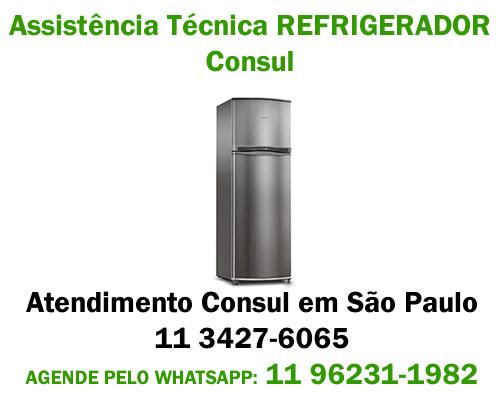 Assistência técnica refrigerador Consul
