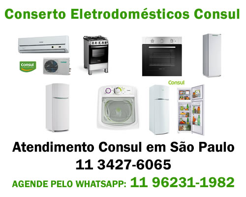 Conserto eletrodomésticos Consul