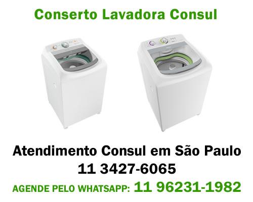 Conserto lavadora Consul