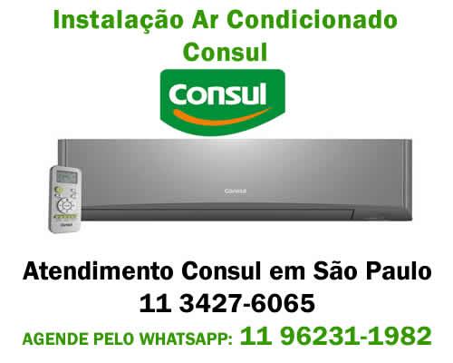 Instalação ar-condicionado Consul
