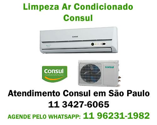 Limpeza ar-condicionado Consul