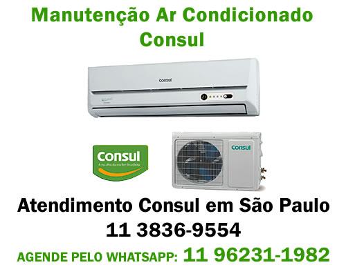 Manutenção ar-condicionado Consul