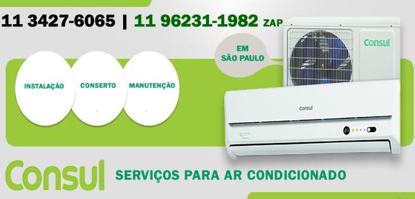 Serviços para ar-condicionado Consul