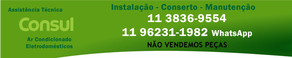 Assistência Técnica Ar Condicionado Consul